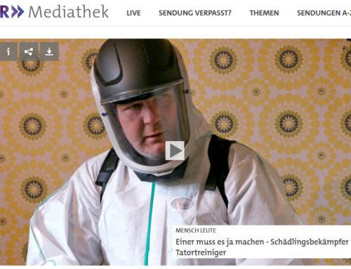 SWR TV-Reportage über ALL IN ONE Taubenabwehr & Schädlingsbekämpfung bei MENSCH LEUTE